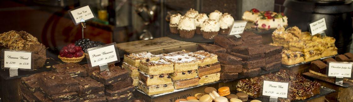 Gewichtszunahme nach dem Rauchstopp - Kuchenbuffet Bild